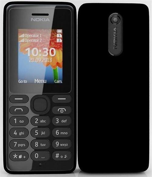 Nokia 108 Dual-SIM 4MB Ram 2G Black DS RM-94