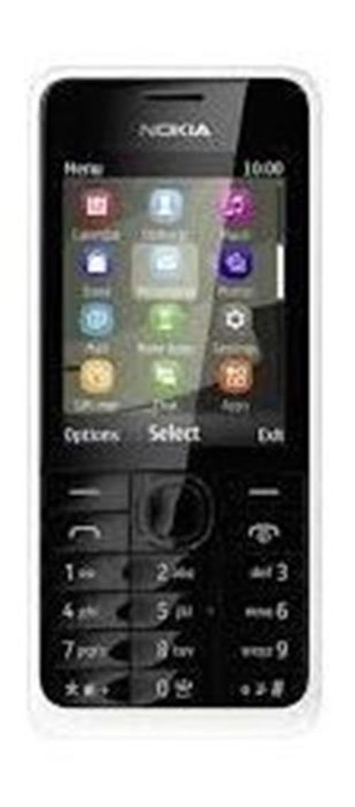 Black Nokia 108 Dual-SIM Phone 4MB Ram 2G DS RM-94