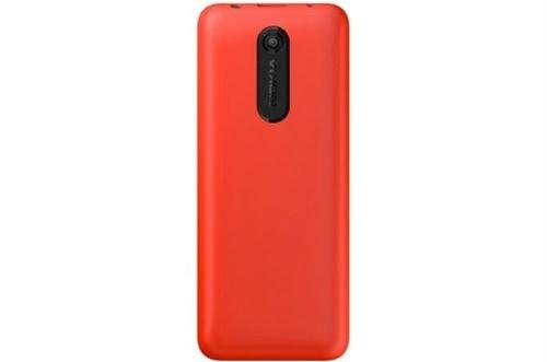 Red color Nokia 108 mobile 4GB RAM Dual-SIM
