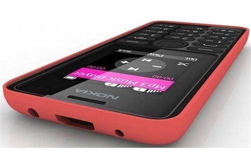 Red Nokia 108 mobile Dual SIM