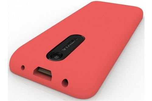 Red Nokia 108 mobile camera