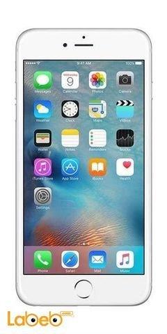 موبايل ايفون 6 ابل - 64 جيجابايت - 4.7 انش - لون فضي - IPHONE 6