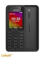 Black  Nokia 130 Phone 2G Dual SIM 1.8 inch