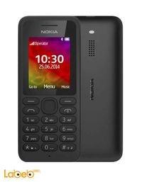 موبايل نوكيا 130 يدعم خطين لون أسود NOKIA 130 DUAL SIM