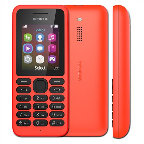 Nokia 130 Dual SIM Feature Phone Red NOKIA 130