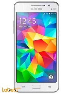 Samsung Galaxy Grand Prime Smartphone - 8GB - 5 inch - white