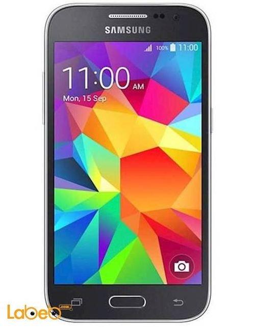 Black Samsung Galaxy Core Prime smartphone