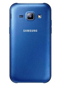 Blue color Samsung Galaxy J1, 4GB storage, 4 3 inch screen