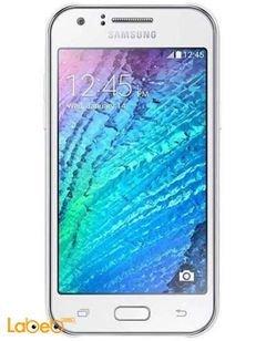 Samsung Galaxy J1 smartphone - 4GB - White - 4.3 inch - SM-J100H