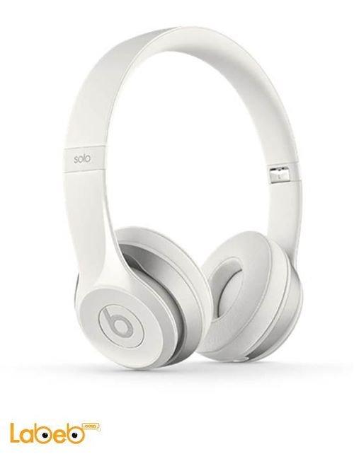 سماعات اذن بيتس سولو 2 لون أبيض موديل 900-00135-03