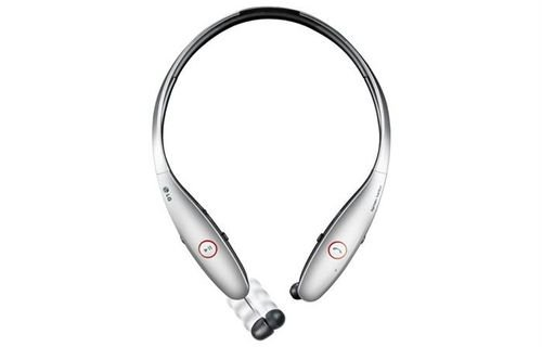 LG Tone HBS 900 Bluetooth Headset Silver color HBS-900-SILVER