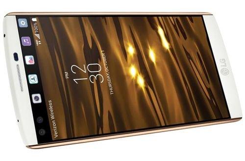 LG V10 smartphone screen