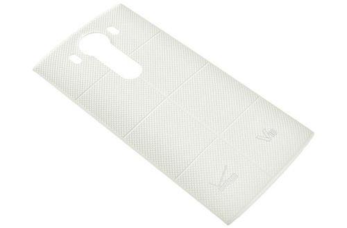 White LG V10 smartphone back