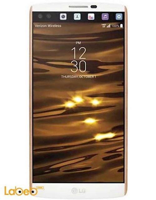 موبايل LG V10 حجم 5.7 انش 64 جيجابايت ابيض