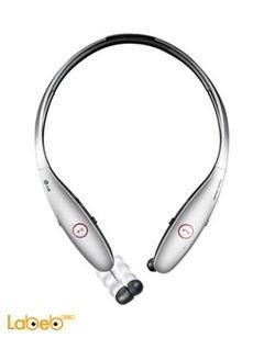 سماعات ال جي Tone Infinim لاسلكية - لون ابيض - موديل LG HBS-900