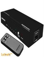 Promate HDMI Mini Switch 5 in/1 out black color PROSWITCH.H5