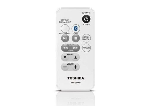 Toshiba CD Radio with Bluetooth 13W Black TY-CWU25(K)BS