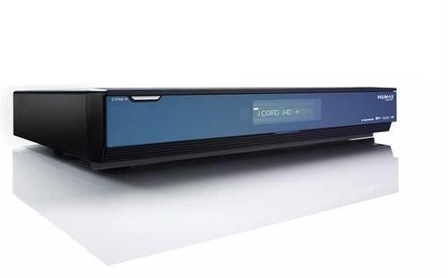 ريسيفر هيوماكس 500 جيجا بايت مع خاصية التسجيل أسود I CORD HD
