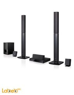 LG 1000W 5.1CH Bluetooth DVD All-In - One Home Theatre - LHD655