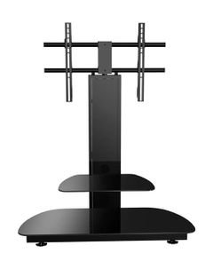 Gecko TV Stand for 32-47 Inches TV - Black color- GKR-6891000/2/B