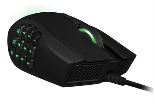 Razer Naga Gaming Mouse black color MOUSE-URAGE-PC model