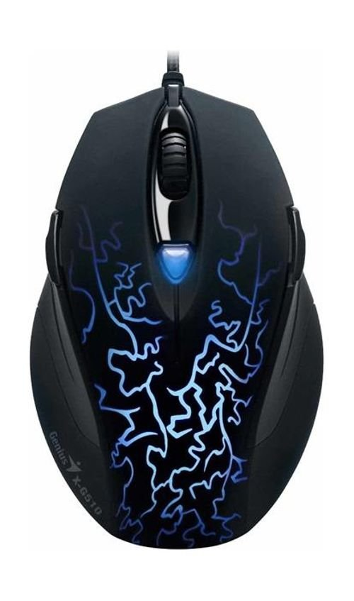 Genius Wired Gaming Mouse Black color MOUSE X-G510