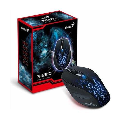 ماوس الألعاب السلكي جينيس لون أسود موديل MOUSE X-G510
