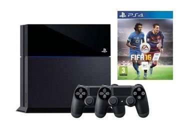 Sony PlayStation 4 1TB Console + 2 Controllers + Fifa 16 - EAP40040