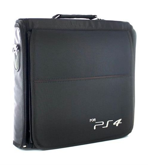 حقيبة حمل لبلاي ستيشن 4 ميسك أسود موديل PS4-BAG