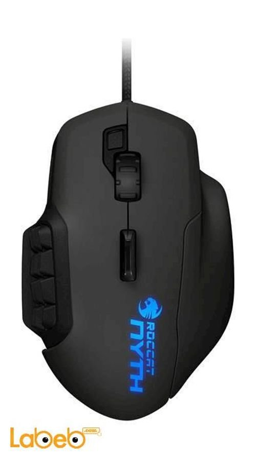Roccat brand Nyth Modular MMO Gaming Mouse Black ROC-11-900 MOUSE