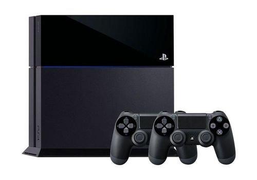 جهاز بلاي ستيشن 4 - 1 تيرا + ٢ يد تحكم + لعبتين - PS4-1TB+2CONT