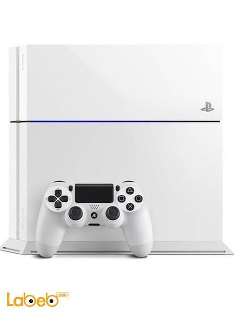 Sony PlayStation 4 500GB Console White PS4-500GB+HDT+2CON