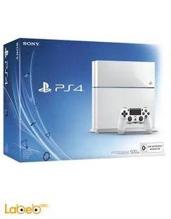 Sony PlayStation 4 500GB Console - White - PS4-500GB+HDT+2CON