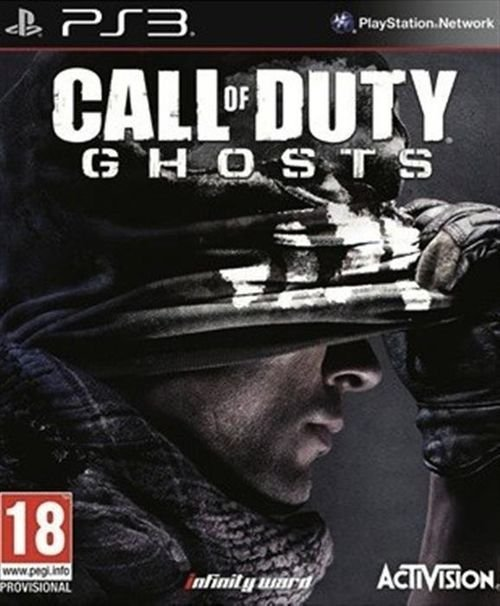 Call of Duty Ghosts PS3 Game 11/2013 ABP31488