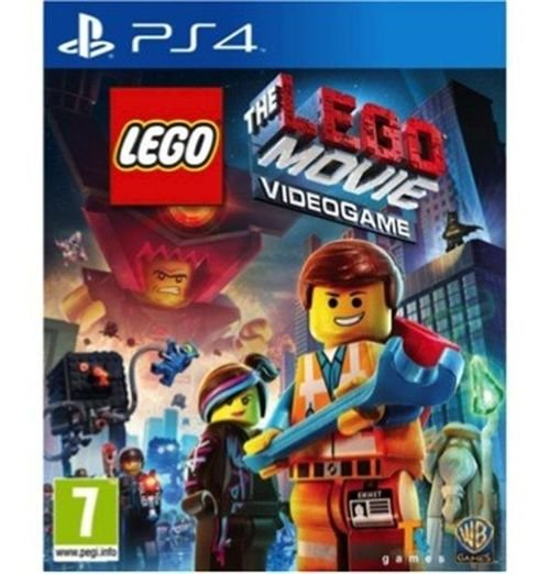 Lego Movie Videogame PS4 Game 2/2014 SOFT-PS4-WBP40004 model