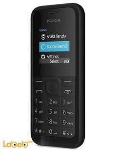 Nokia 105 Dual Sim mobile - 4MB RAM - 1.4 inch - Black