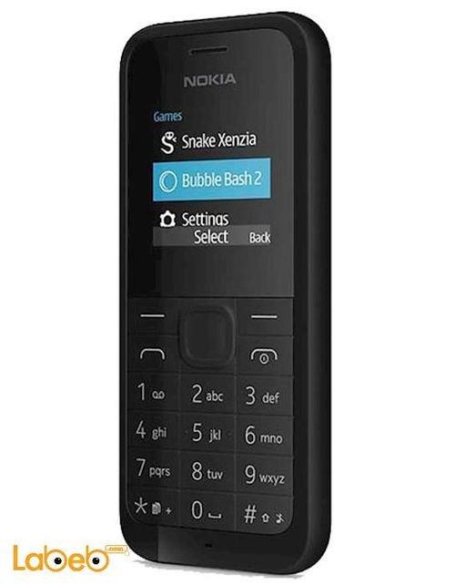 موبايل نوكيا 105 دوال سيم أسود 8GB