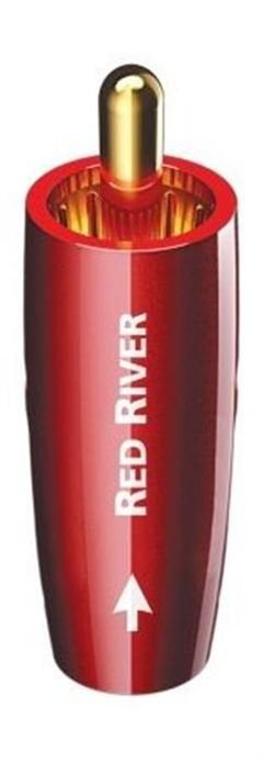 AudioQuest - River Series Interconnect - RCA Cable - Red - RCARRIVER