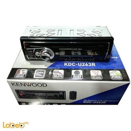 مسجل كينوود KDC-U263B للسيارة منافذ USB و AUX