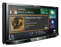 Pioneer Double-DIN Car DVD - Bluetooth - 7inch - AVH-X5750BT
