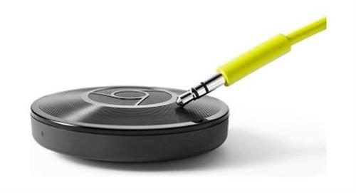 مشغل وسائط صوتية جوجل كروم كاست 2.0 واي فاي أسود CHROME 2.0