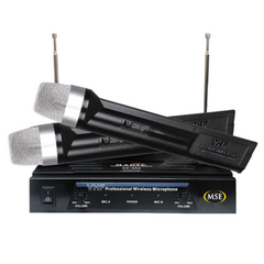Magic Star Professional Wireless Microphone System - Black - SP200
