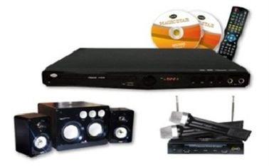 Magic Star Karaoke System - Wireless Microphones Pack - MS900/SP200
