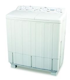 Daewoo Twin Tub Washer - 8.5kg - White color - model DW-K200S