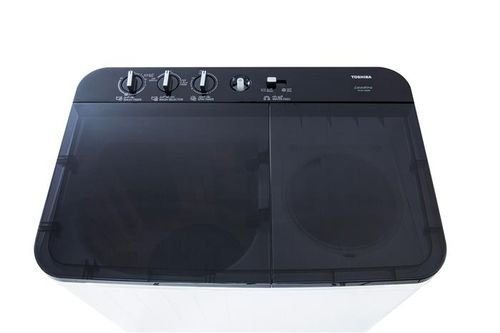 Toshiba Twin Tub Top Washer VH-B1100WB 9Kg White/Black
