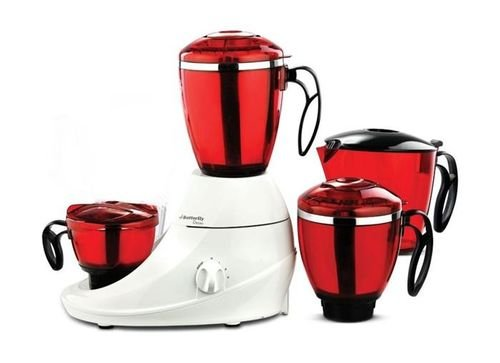 Butterfly Desire Blender 750W White/ Red DESIRE model