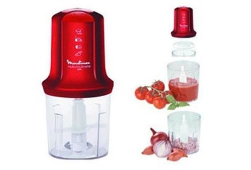 Moulinex Multi Moulinette Mini Food Chopper 400W Red model AT712