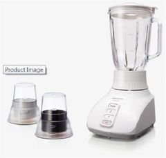 Panasonic Blender/Juicer 400W 1.5L with 2 Glasses - model MX-GX1571WTZ