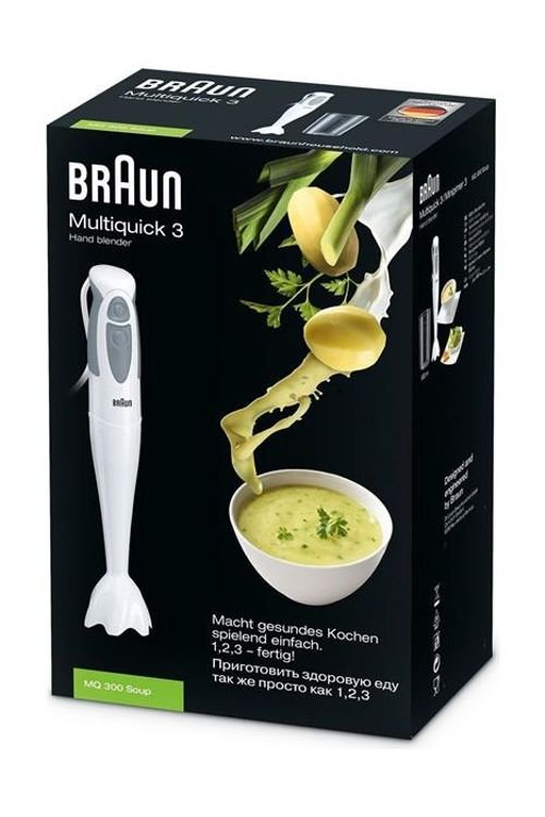 Braun Hand Blender 550 Watt Multiquick 3 MQ300 Model