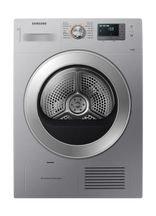 Samsung Front Load Condenser Dryer 8Kg Silver DV80H4000CS/NQ